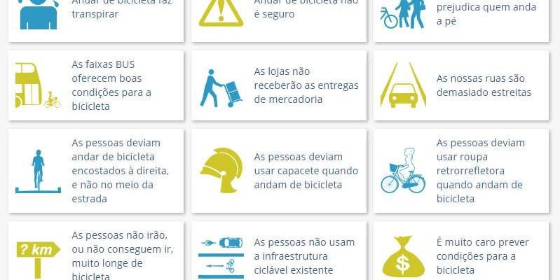 Os 30 mitos mais comuns sobre o uso da bicicleta e como respondê-los
